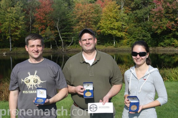 Left to Right: Justin Tracy (Silver), Bill Neff (Gold), Claudia Duksa (Bronze)