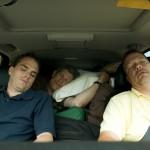 Asleep at the wheel.