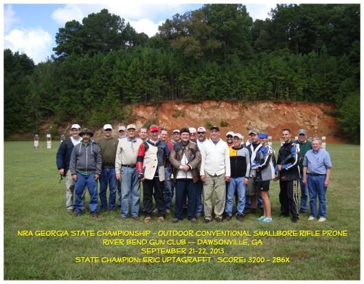 2013 GA SB Prone State Chmpnshp Group Photo